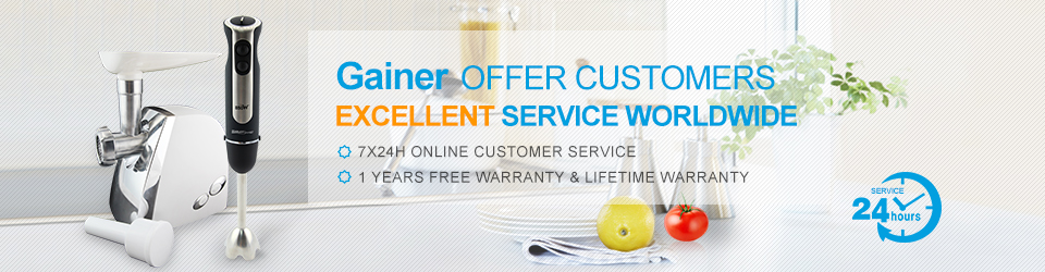 GAINER OFFER CUSTOMRS EXCELLENT SERVICE WOLDWIDE